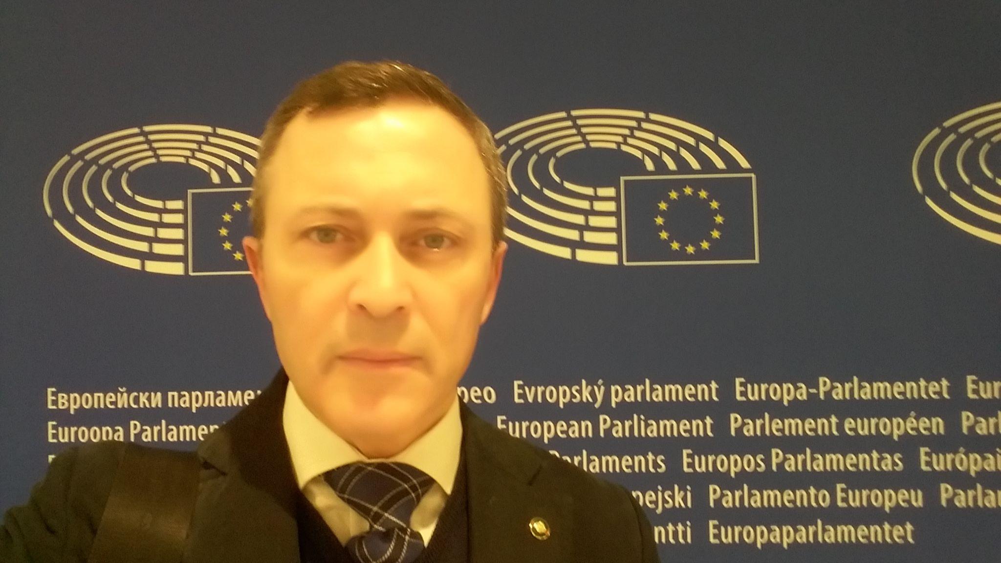 Emilio Nuzzolese - Parlamento Europeo Bruxelles